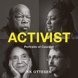 Activist audiobook cover art