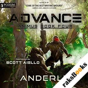 Advance audiobook cover art