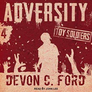 Adversity audiobook cover art