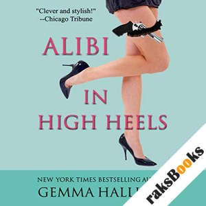 Alibi in High Heels audiobook cover art