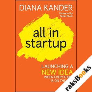 All In Startup audiobook cover art