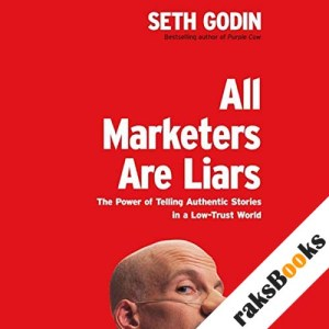 All Marketers Are Liars audiobook cover art