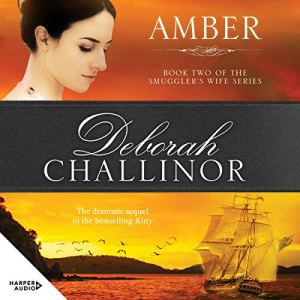 Amber audiobook cover art