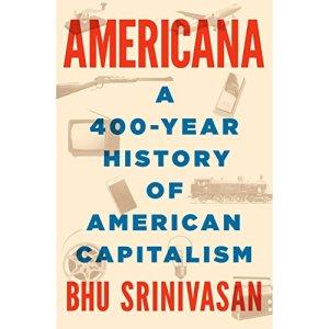 Americana audiobook cover art