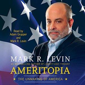 Ameritopia audiobook cover art
