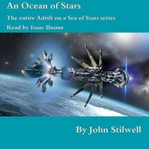 An Ocean of Stars audiobook cover art