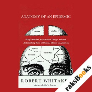 Anatomy of an Epidemic audiobook cover art