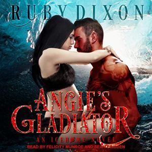 Angie's Gladiator audiobook cover art
