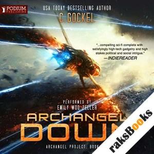 Archangel Down audiobook cover art