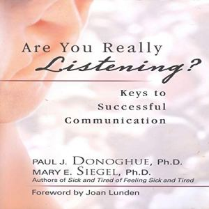 Are You Really Listening? audiobook cover art