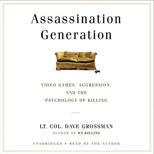 Assassination Generation audiobook cover art
