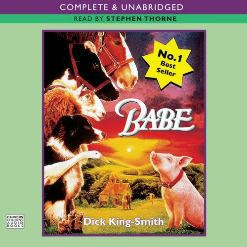 Babe, The Sheep-Pig audiobook cover art