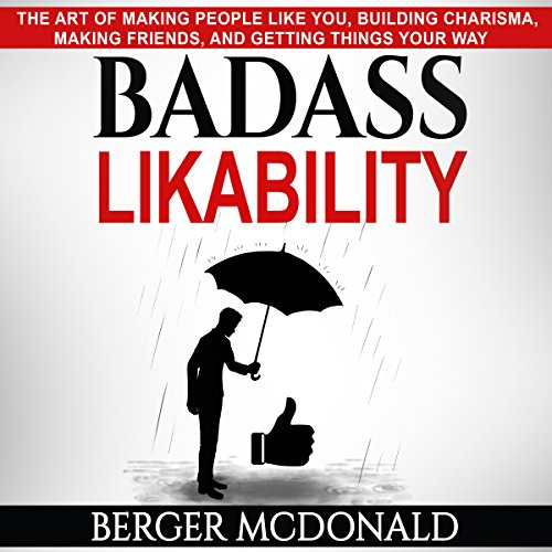 Badass Likability audiobook cover art