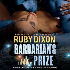 Barbarian's Prize audiobook cover art