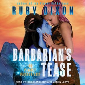 Barbarian's Tease audiobook cover art