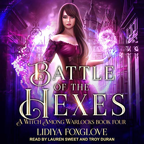 Battle of the Hexes audiobook cover art