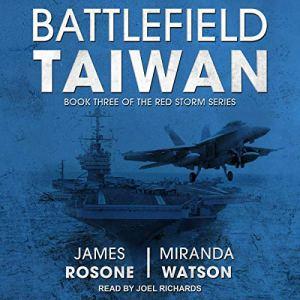 Battlefield Taiwan audiobook cover art