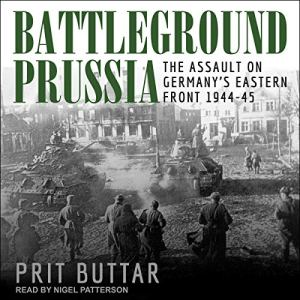 Battleground Prussia audiobook cover art