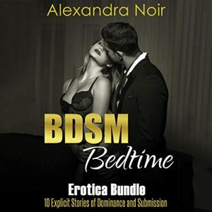 BDSM Bedtime Erotica Bundle: 10 Explicit Stories of Dominance and Submission audiobook cover art