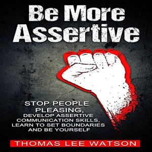 Be More Assertive audiobook cover art