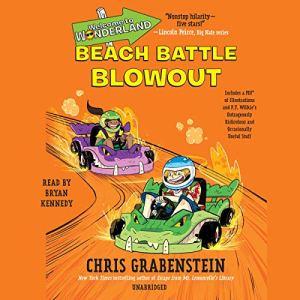 Beach Battle Blowout audiobook cover art