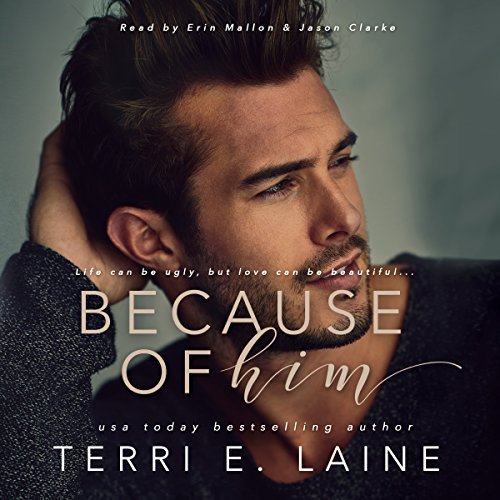 Because of Him audiobook cover art