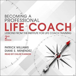 Becoming a Professional Life Coach audiobook cover art