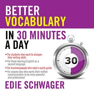 Better Vocabulary in 30 Minutes a Day audiobook cover art