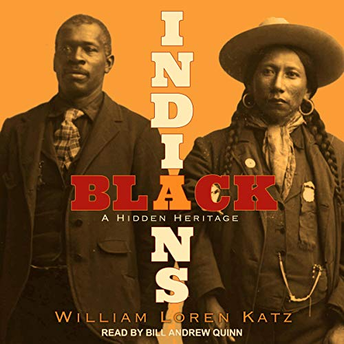 Black Indians audiobook cover art