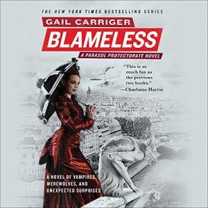 Blameless audiobook cover art