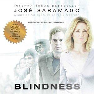 Blindness audiobook cover art