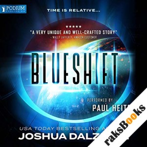 Blueshift audiobook cover art
