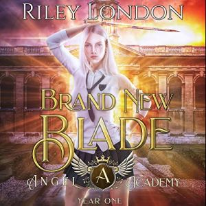 Brand New Blade audiobook cover art