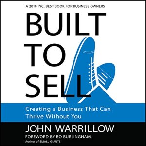 Built to Sell audiobook cover art