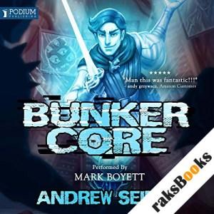 Bunker Core audiobook cover art