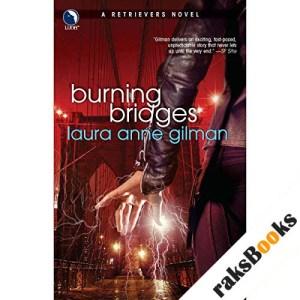 Burning Bridges audiobook cover art