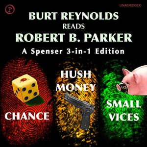 Burt Reynolds Reads Robert B. Parker audiobook cover art
