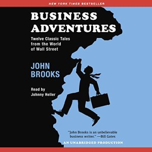 Business Adventures audiobook cover art