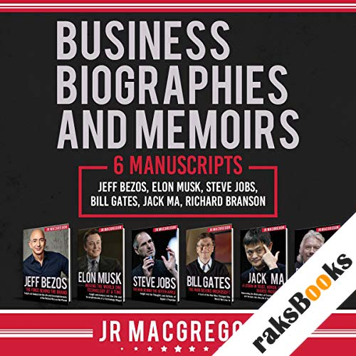 Business Biographies and Memoirs: 6 Manuscripts audiobook cover art