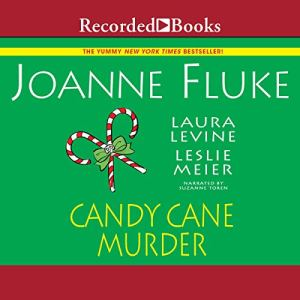 Candy Cane Murder audiobook cover art