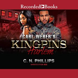 Carl Weber's Kingpins audiobook cover art