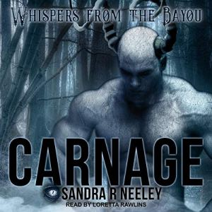 Carnage audiobook cover art