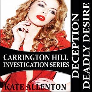 Carrington Hill Investigations Series audiobook cover art