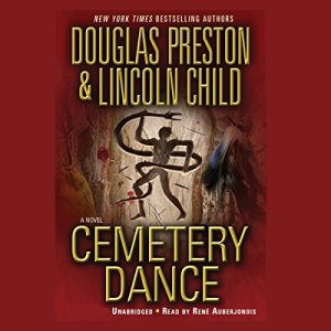 Cemetery Dance audiobook cover art
