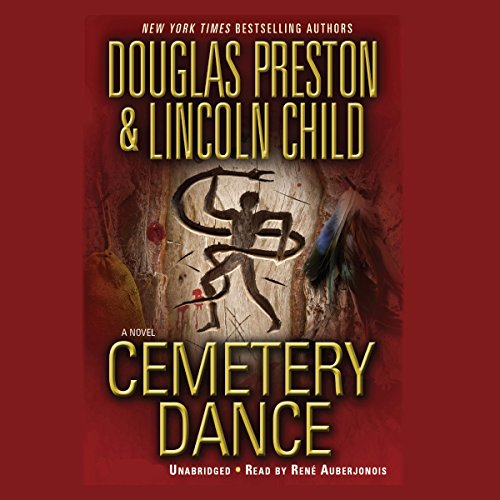 Cemetery Dance audiobook cover art