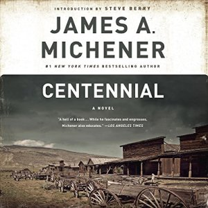 Centennial audiobook cover art