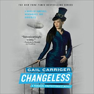 Changeless audiobook cover art