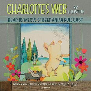 Charlotte's Web audiobook cover art