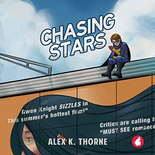 Chasing Stars audiobook cover art
