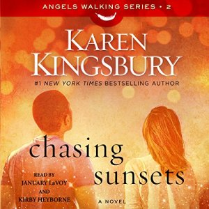 Chasing Sunsets audiobook cover art